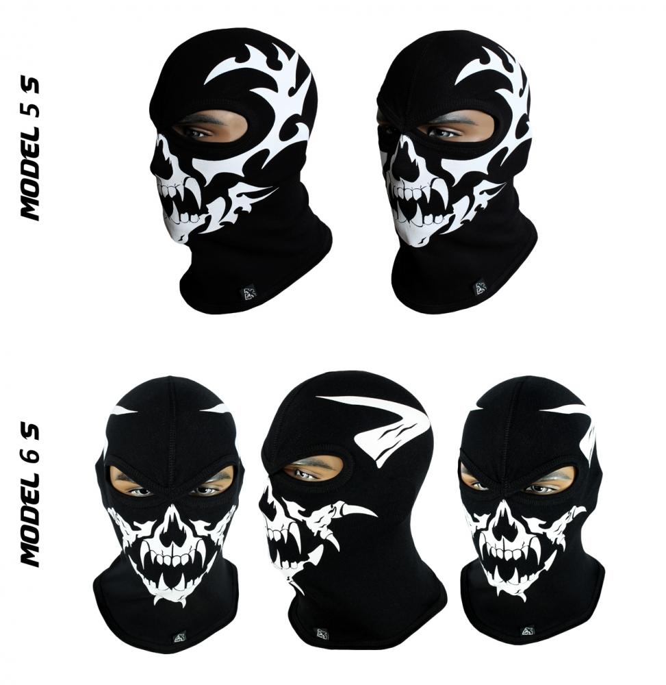 Балаклава-череп, маска подшлемник (Польша) Radical - 2