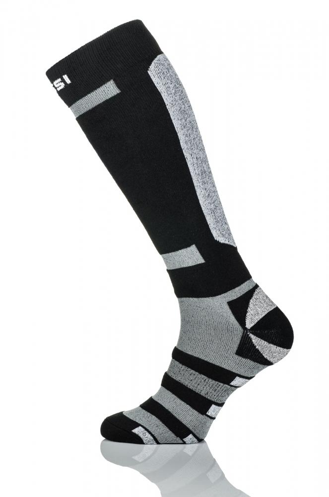 Термошкарпетки Nessi S5 Чорні із сірим - 1