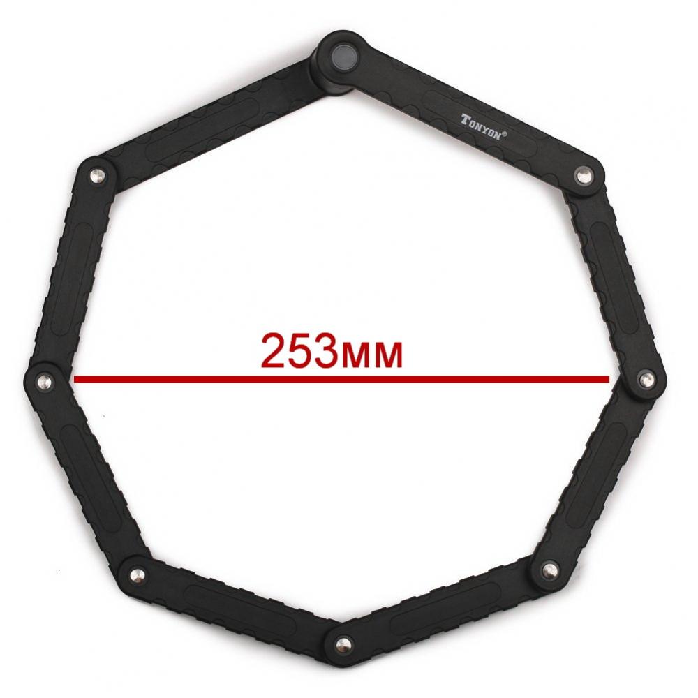Велозамок сегментний Tonyon 3881 - 2