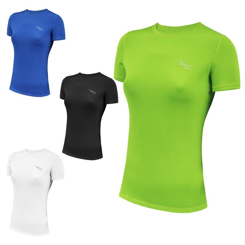 Спортивная женская футболка Radical Capri Черная (Польша) - 2