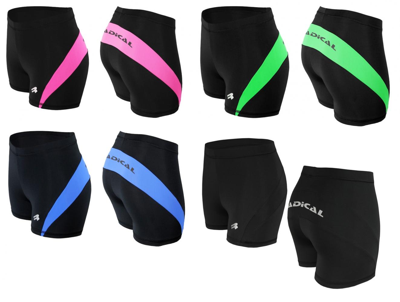 Спортивні шорти жіночі Radical Flexy (Польща), велошорти Чорні - 1