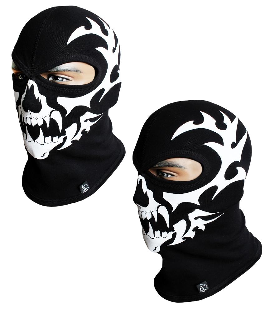 Балаклава-череп, маска подшлемник (Польша) Radical - 4