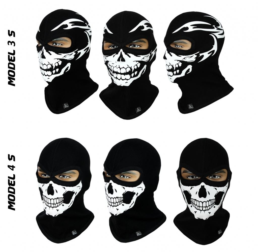 Балаклава-череп, маска підшоломник (Польща) Radical - 3