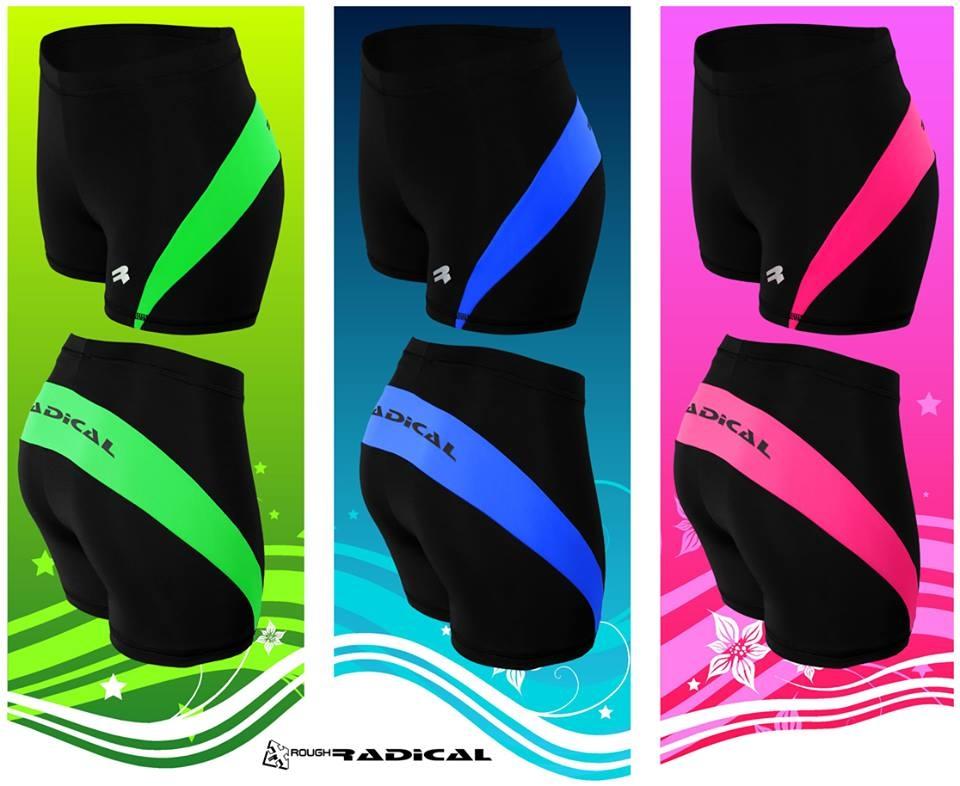Спортивные шорты женские Radical Flexy (Польша), велошорты Черные - 2