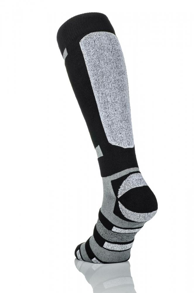 Термошкарпетки Nessi S5 Чорні із сірим - 2