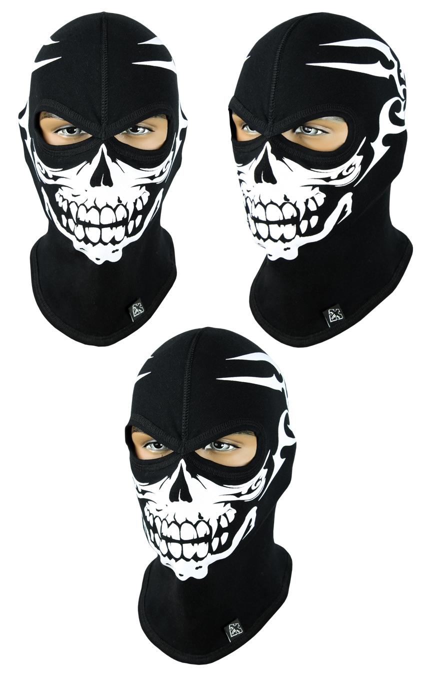 Балаклава-череп, маска подшлемник (Польша) Radical - 6