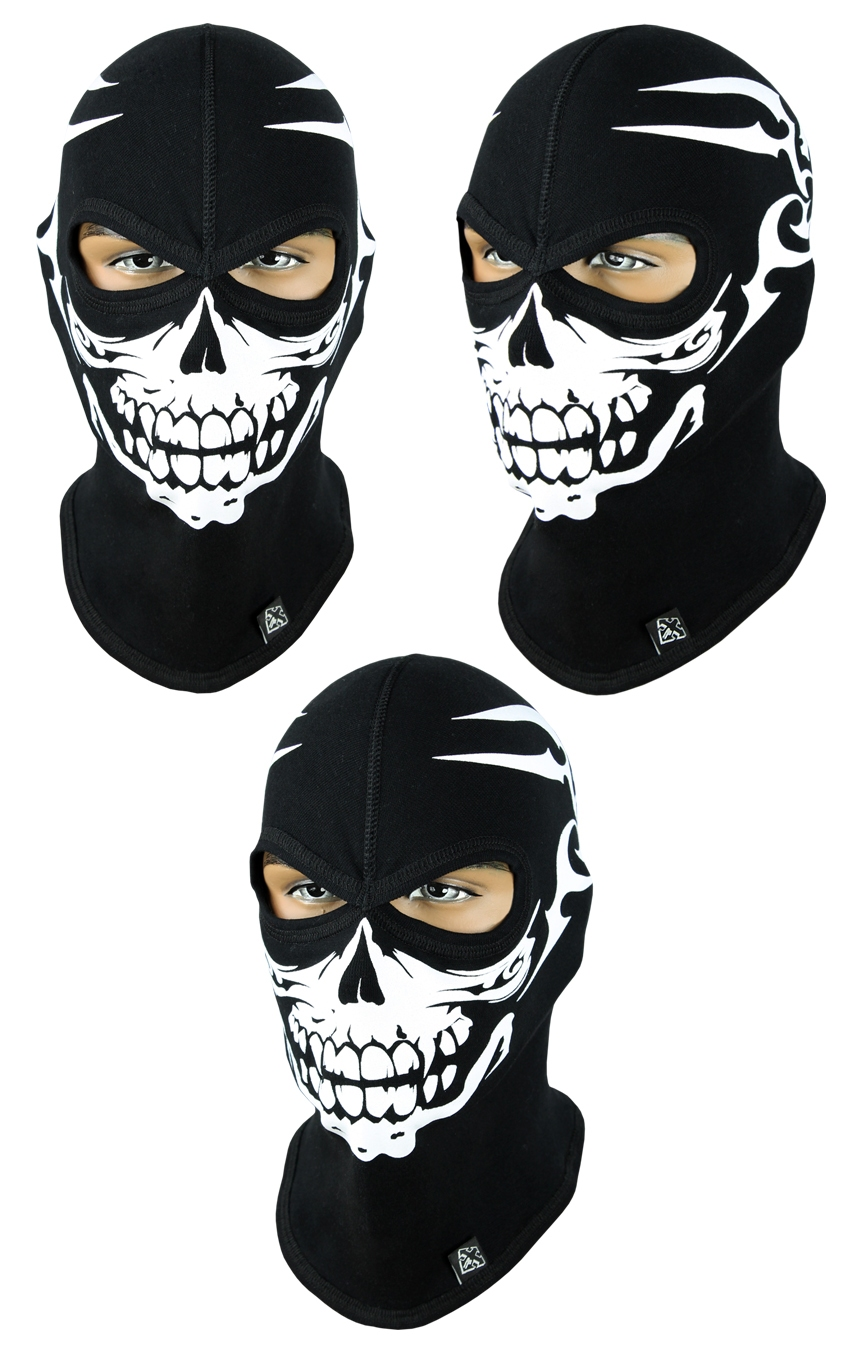 Балаклава-череп, маска підшоломник (Польща) Radical - 6
