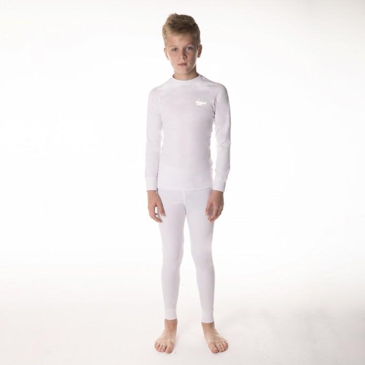 Термобілизна дитяча спортивна Virmax Sport біла - 1