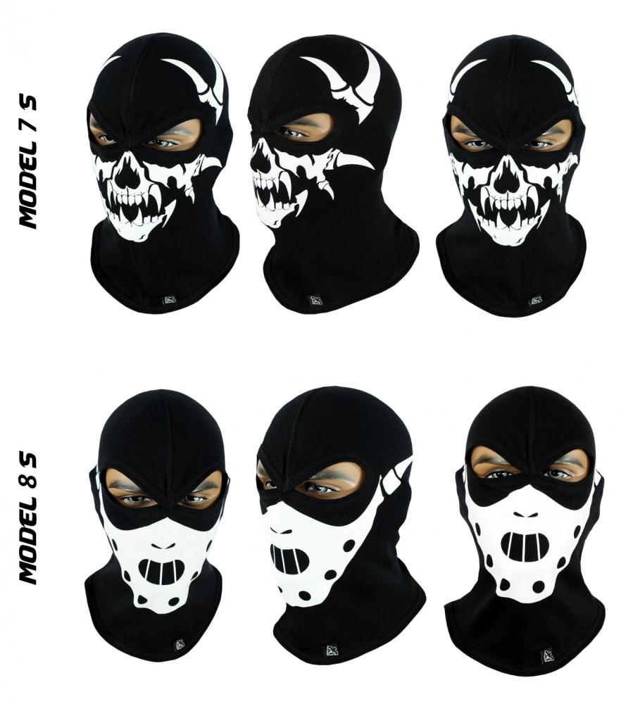 Балаклава-череп, маска подшлемник (Польша) Radical - 1