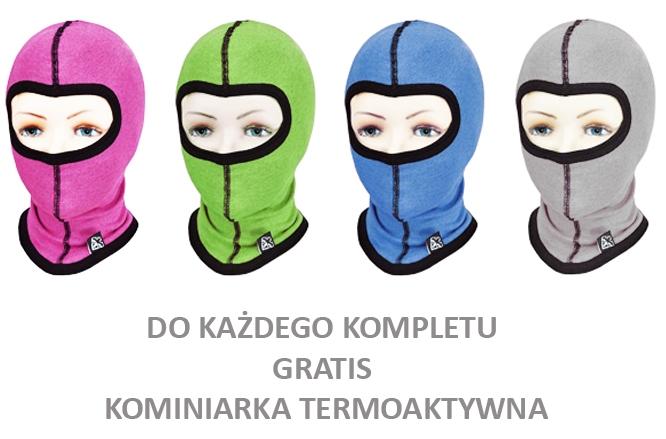 Дитячa термобілизнa Radical (Польща) + подарунок!  Чорна з червоними нитками - 5