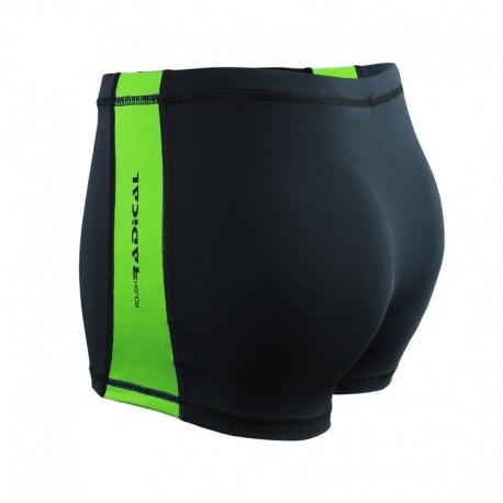 Плавки чоловічі для купання з захистом від хлору Radical Shoal із Зеленою смугою (Польща) - 1