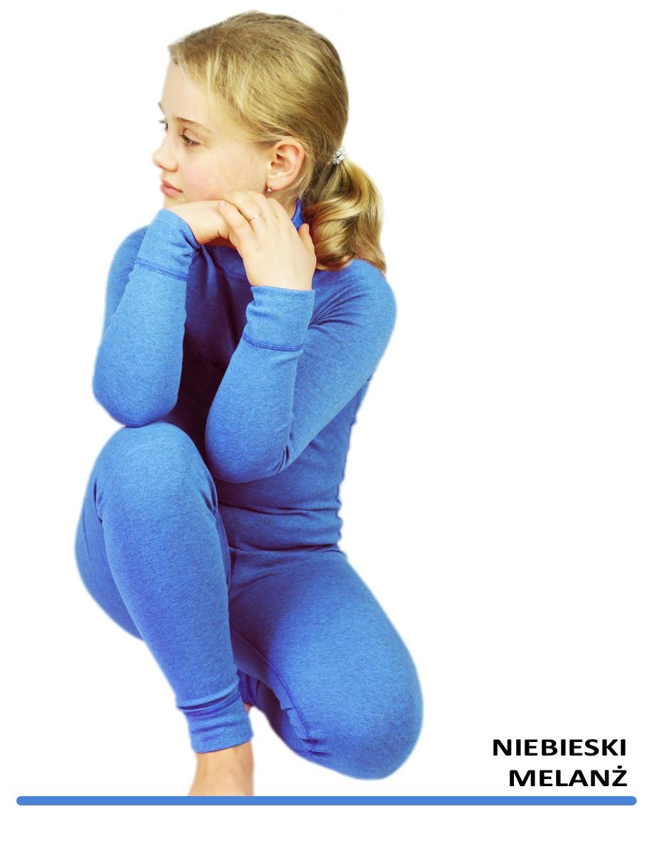 Дитячa термобілизнa Radical (Польща) + подарунок!  Чорна з синіми нитками - 3