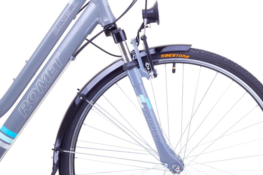 """Велосипед Romet 1728406-S-17"""" GAZELA білий - 1"""