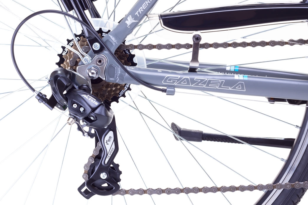 """Велосипед Romet 1728406-S-17"""" GAZELA білий - 3"""