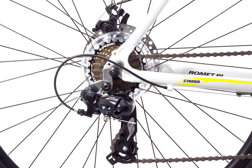 """Велосипед Romet 1728510-M-19"""" ORKAN I Чоловічий чорно-помаранчовий - 1"""