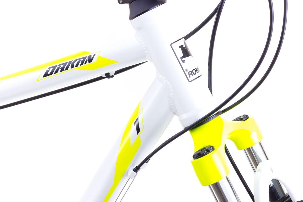 """Велосипед Romet 1728510-M-19"""" ORKAN I Чоловічий чорно-помаранчовий - 2"""