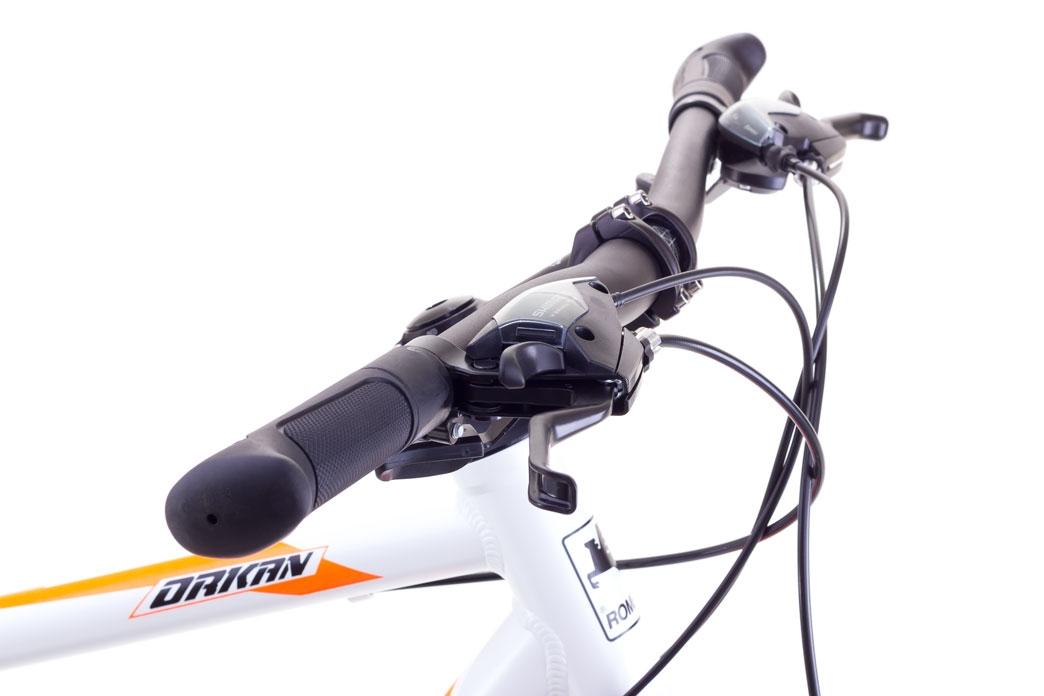 """Велосипед Romet 1728500-M-19"""" ORKAN Чоловічий чорно-аквамарин - 3"""
