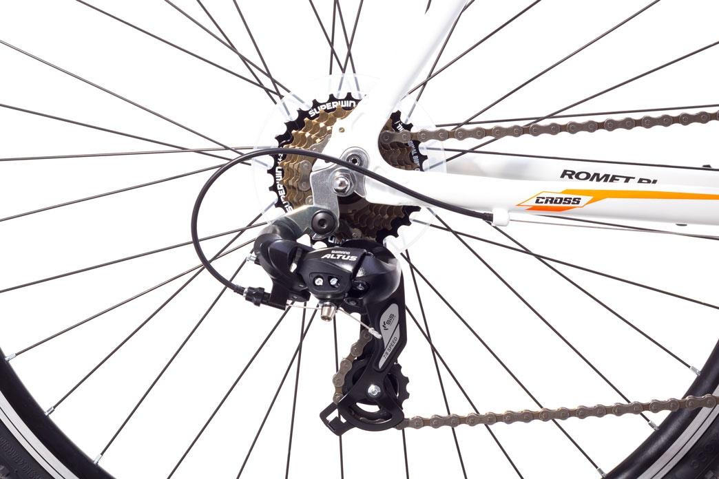 """Велосипед Romet 1728500-M-19"""" ORKAN Чоловічий чорно-аквамарин - 2"""