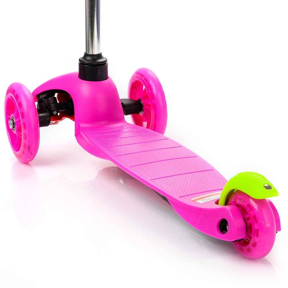 Самокат трохколісний METEOR рожевий - 2