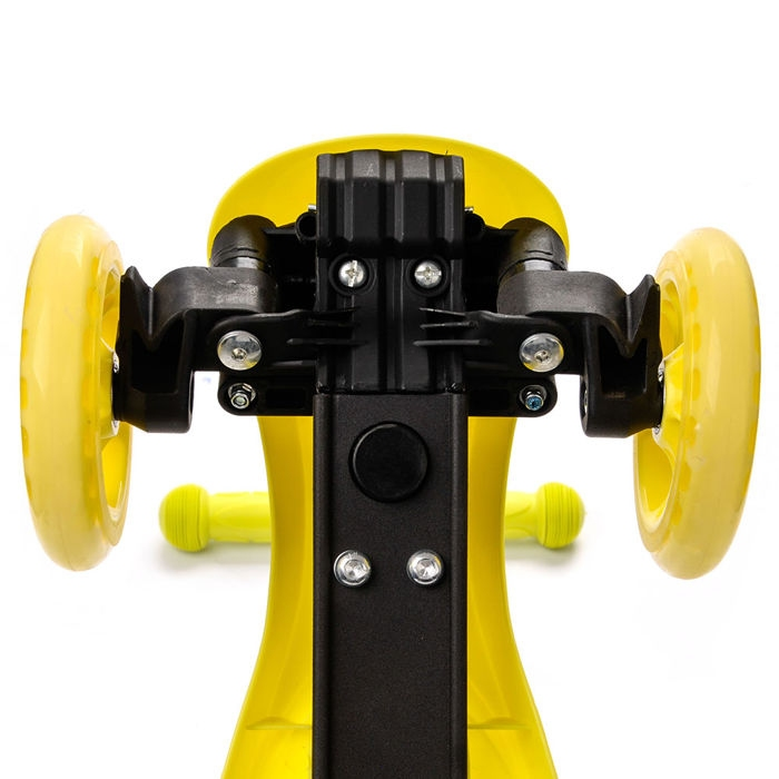 Самокат трохколісний METEOR SHIFT жовтий - 2