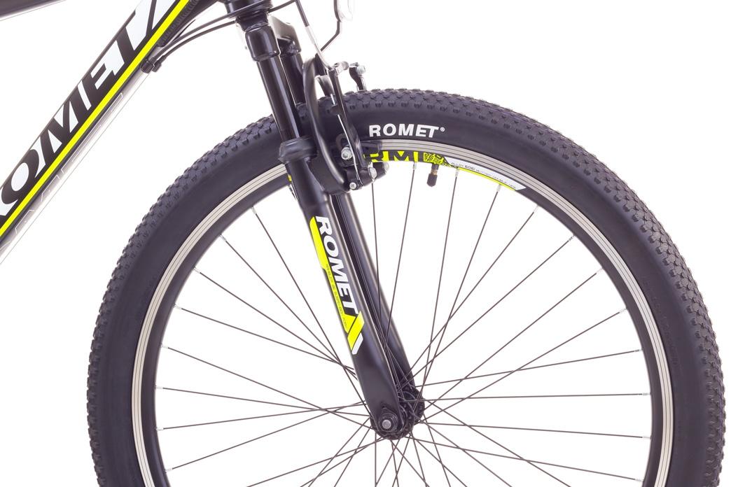 """Велосипед Romet 1726731-S-15"""" RAMBLER 26"""" Подростковые черно-оранжевый - 1"""