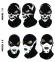 Балаклава-череп, маска підшоломник (Польща) Radical - 1