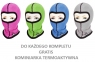 Дитячa термобілизнa Radical (Польща) + подарунок!  Чорна з синіми нитками - 5