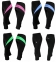 Спортивні велоштани жіночі Radical Flexy 3/4 (Польща) Чорні із Рожевою вставкою - 1
