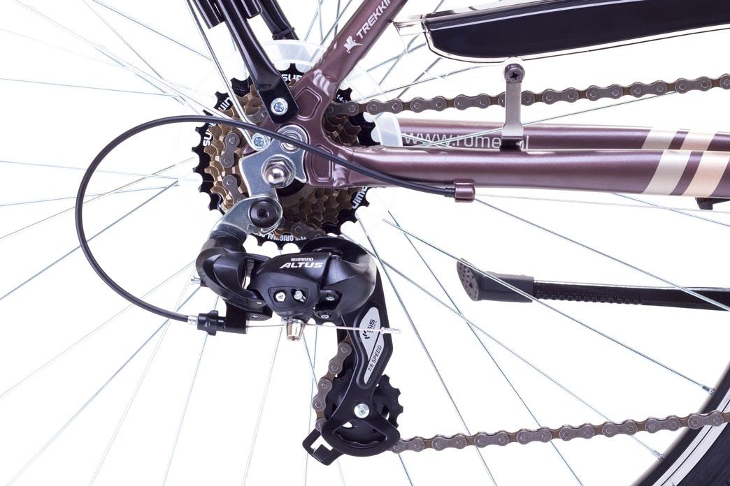 """Велосипед Romet 1728402 L-21"""" WAGANT коричневий - 3"""