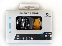 Педали Shimano PD-T400 CLICKR